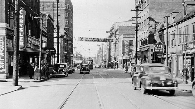 Saint-Roch dans les années 1940 (2) : rue de la Couronne