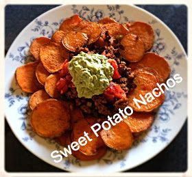 Healthy Habits : Sweet Potato Nachos So addicting, but its okay because its good for you!