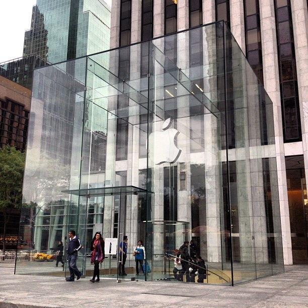 I Love This Place Apple Store NY   Modern Minimalism Architecture