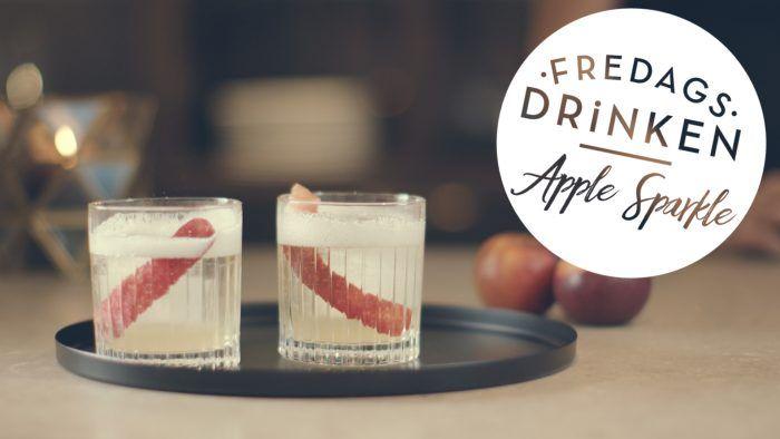 Fredagsdrinken – Så gör du en Apple Sparkle