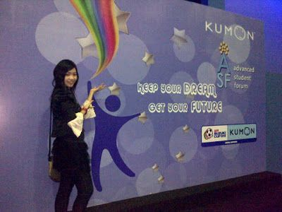 Sand Beauty: Kumon Road Show 3 Cities