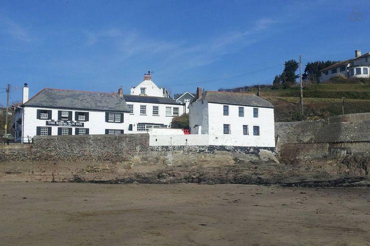 Local pub and beach