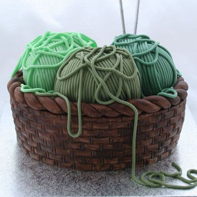 How to make a knitting basket cake  Not that i'm planning or anything - but I'd love this to celebrate this fall!