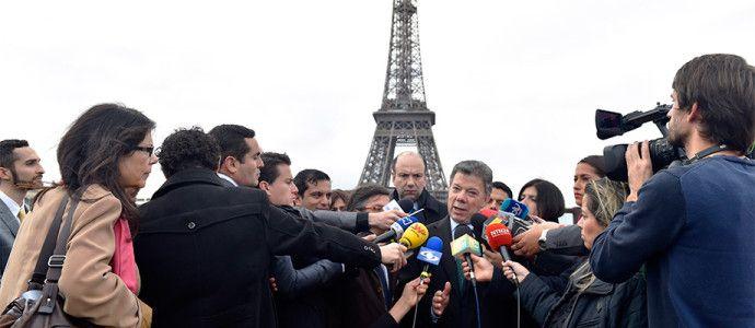 """""""Esta es una gran noticia y los amantes del vallenato debemos estar muy contentos"""": Presidente Santos."""