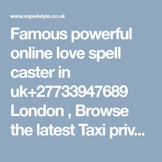 Famous powerful online love spell caster in uk+27733947689 London , Browse the latest Taxi private hire used cars car parts wakefield For sale.