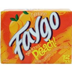 Faygo Peach Pop ~ a family favorite!