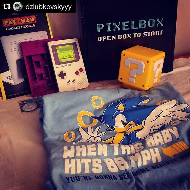 Czerwcowy Pixel-box w pełnej okazałości od @dziubkovskyyy #pixelbox #pixelboxlove #mario #nintendo #retrostyle #Sonic #g...