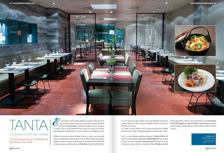 Peru en Barcelona: Restaurante Tanta