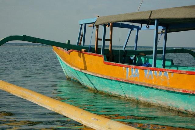Boat to Gili Meno by beatdrifter, via Flickr