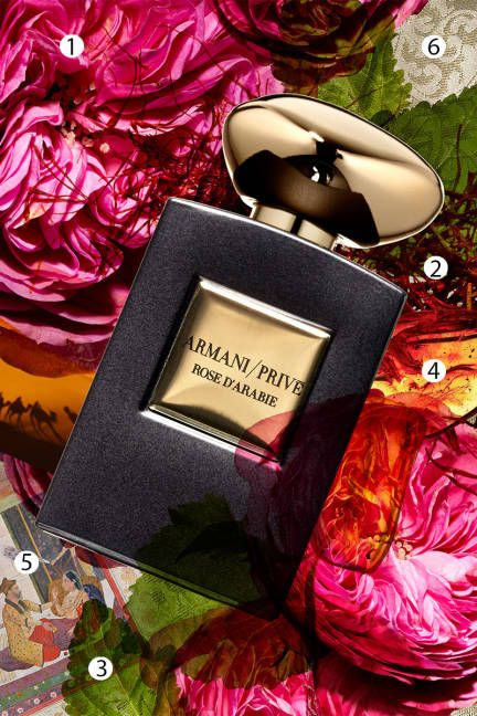 What makes a fragrance? Photo collages of the notes inside four new perfumes