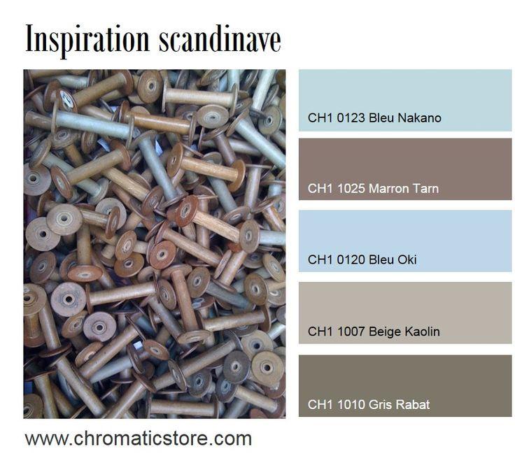 17 meilleures images propos de chromatic du beige au - Association couleur marron ...