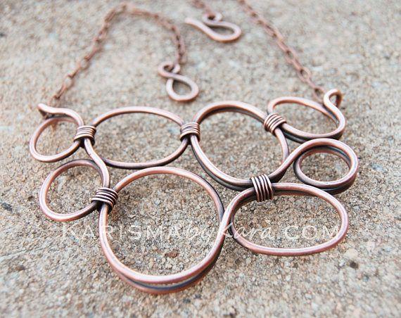 Les 25 meilleures id es de la cat gorie bijoux en cuivre sur pinterest bijoux en fil d - Faire briller aluminium oxyde ...