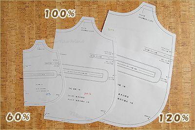 型紙の作り方 コピー機で サイズ変更する場合の方法