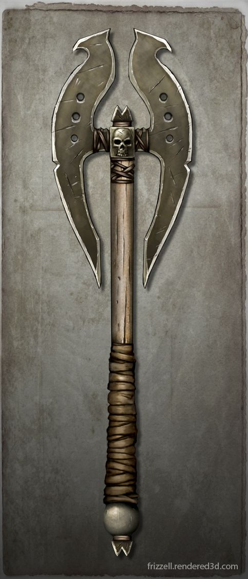 Axe Concept 2 by KaileyFrizzell on deviantART