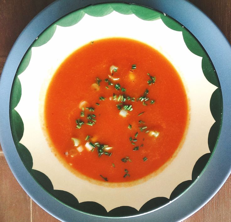 Geroosterde paprikasoep – Sport Foodblog