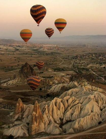 hot baloons in turkey from express-o blog
