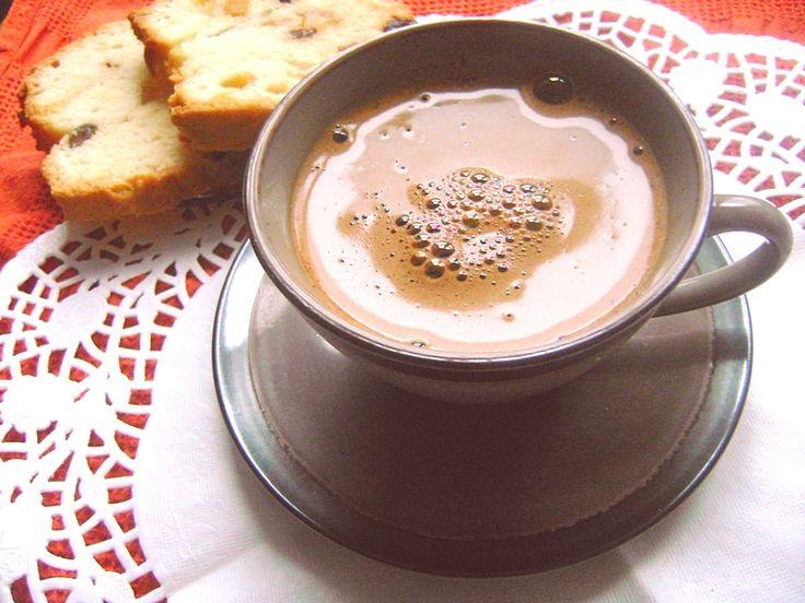 Kawa po turecku z kakao i wanilią