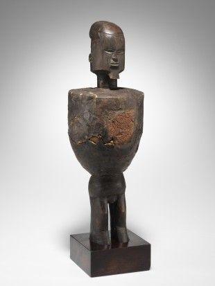 "143 Figur, ""buti"" Teke, DR Kongo H 40,5 cm.   Provenienz: Carlo Monzino (1931-1996), Castagnola."
