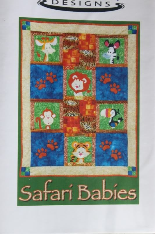 Safari Babies Baby Quilt Pattern Willow Bay Jungle Quilt