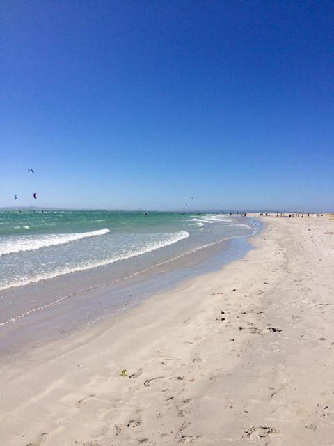 Langebaan looking beautiful for the kite surfers today #capetownvolunteer #ctrci