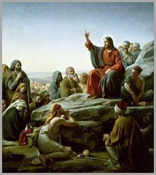 O Sermão da Montanha (1890), pintura de Carl Heinrich Bloch.