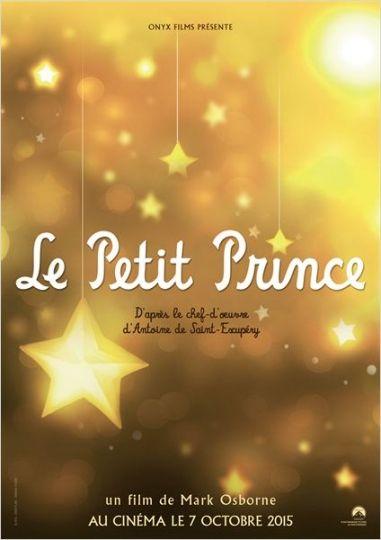 Le Petit Prince réalisé par Mark Osborne est présenté hors compétition.
