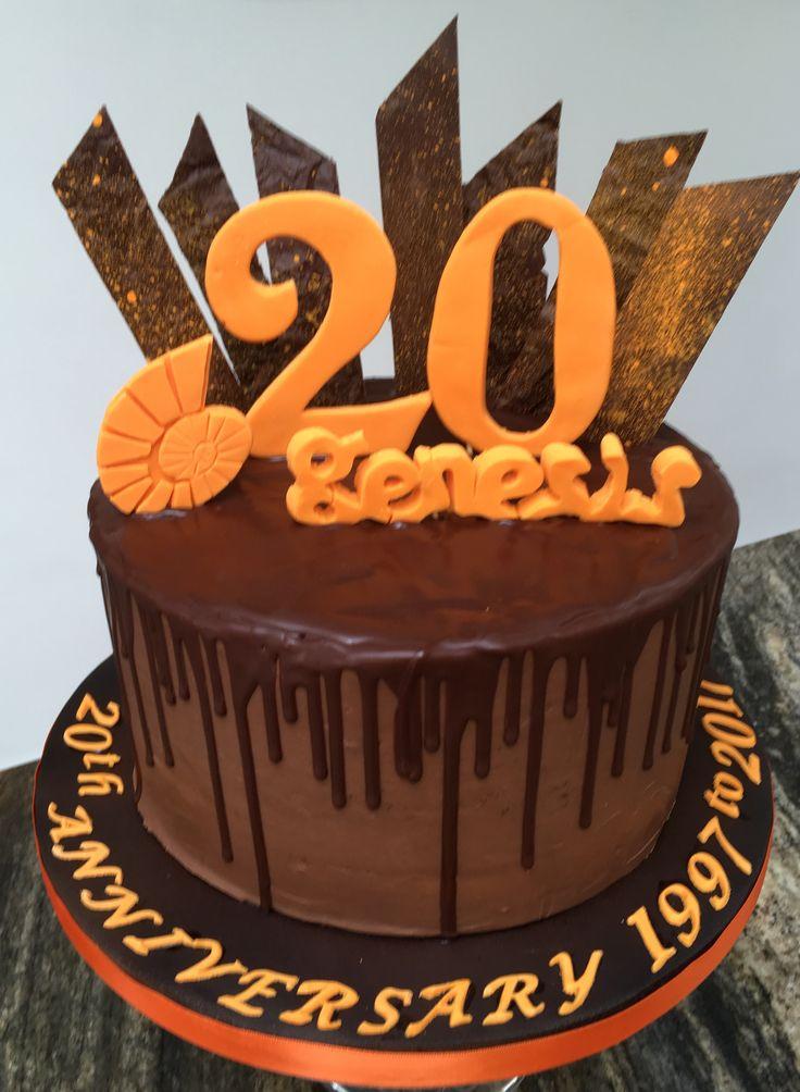 Genesis Gym Bath 20th Anniversary Cake