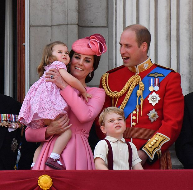 The Royal Family attends theTrooping the Colour ceremony in London, UK on June 17, 2017 (REX/Shutterstock
