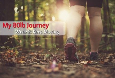 """My 80lb Journey: Keep Moving Sorry this one is late. I have been a little sidetracked this week, but I promise to update on Monday's each week, from now on! So last week I shared with everyone that I wanted to lose 80lb and start making positive lifestyle choices little by little to help along … Continue reading """"My #80lbJourney Week 2: Keep Moving"""""""