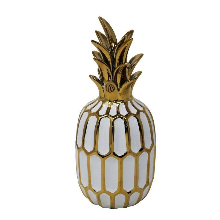 Schuyler Ceramic Pineapple Sculpture Amp Reviews Allmodern