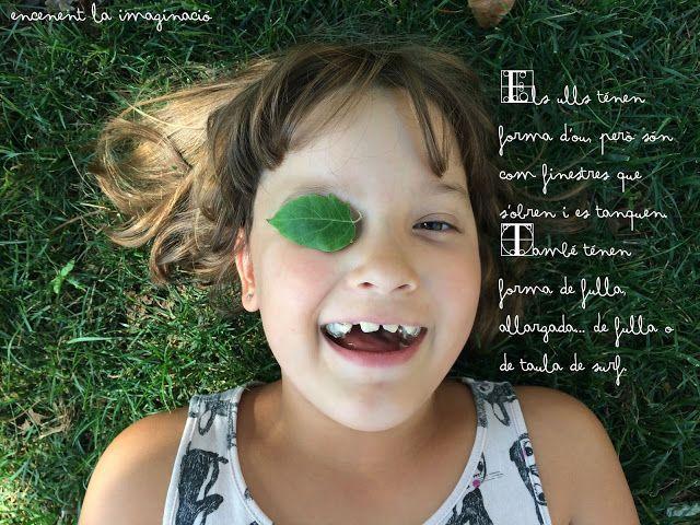 Els ulls tenen forma d'ou, però són com finestres que s'obren i es tanquen. També ténen forma de fulla allargada... de fulla o de taula de surf. · The eyes are shaped like an egg, but they are like windows that you can open or close. Also are shaped like elongated leaves... like leaves or surf tables. · The eyes. · Els ulls. #creixercreant #creixerobservant #retratantlafantasia #portrayingfantasy