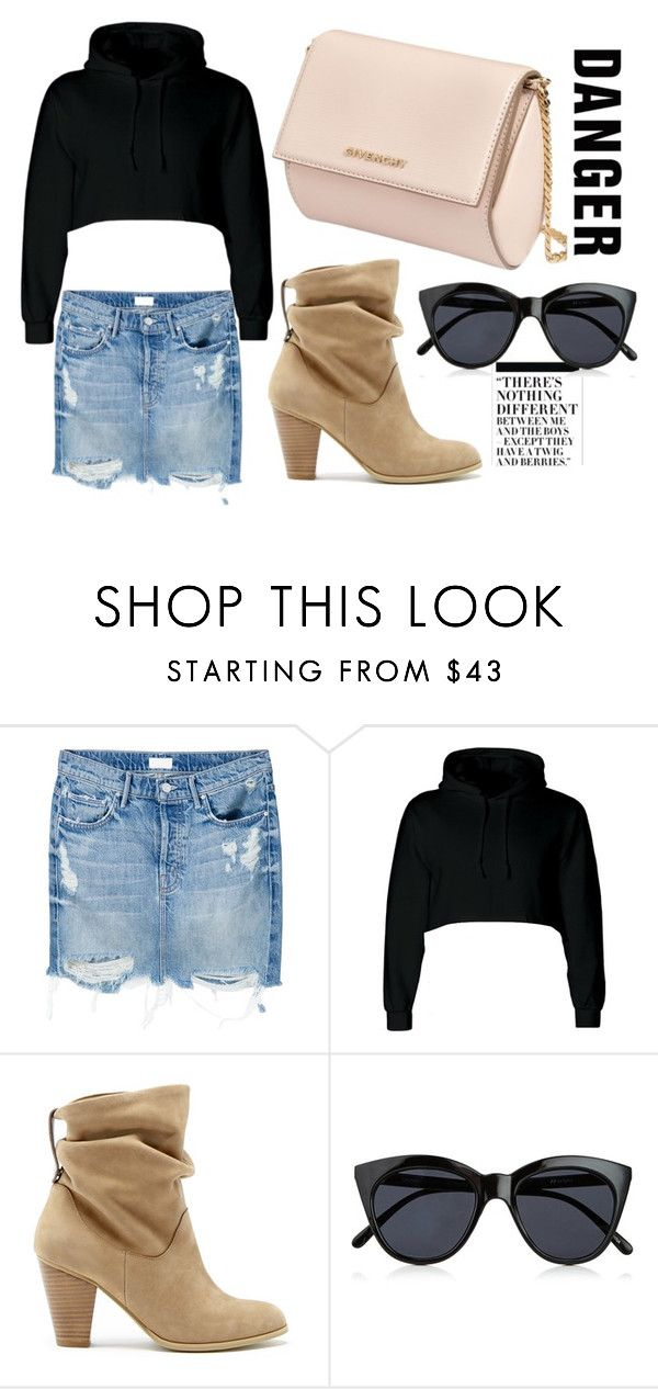 """craziness"" by soidi-illis ❤ liked on Polyvore featuring Nicki Minaj, Mother, Sole Society, Le Specs and Givenchy"