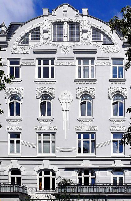 | ♕ |  Hamburg - Eppendorf - Jugendstil 007