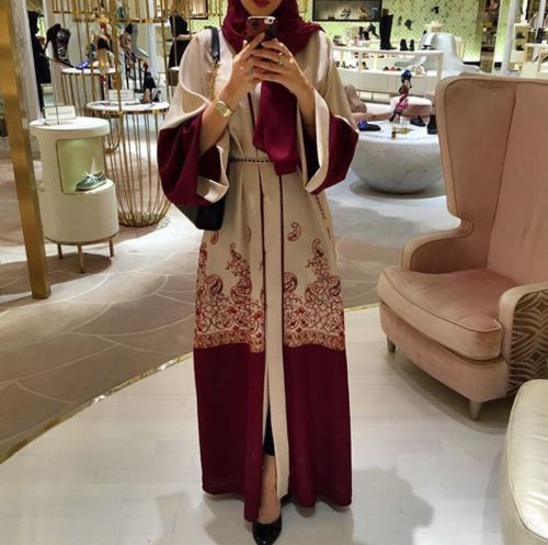 hijab, abaya, and fashion image