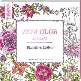 Zencolor moments Blumen & Blüten von Susanne Kuhlendahl https://www.topp-kreativ.de/zencolor-moments-blumen-blueten-8210.html #frechverlag #topp #diy #basteln