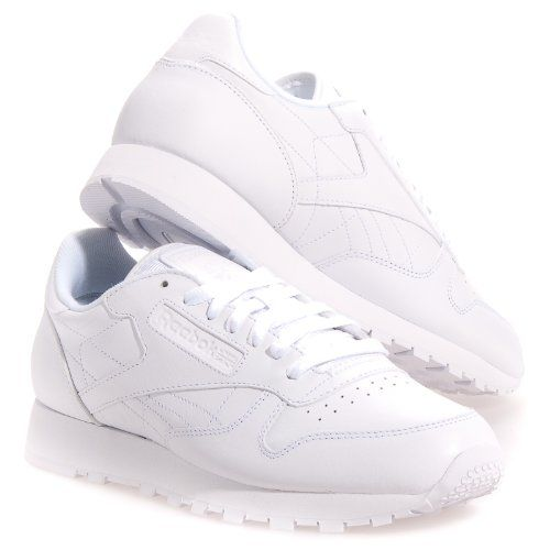 reebok classic leather white cena