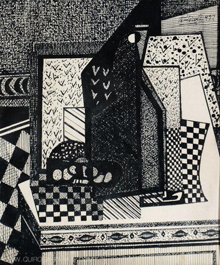 Interior (1922) Emilio Pettoruti