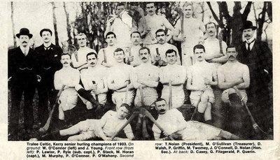 Tralee Celtic, Kerry Hurling Champions 1903 #Irish #history