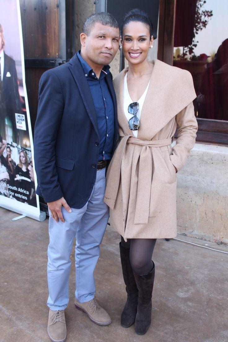 Craig Mooi and his wife Mrs South Africa 2014 Riana Mooi.
