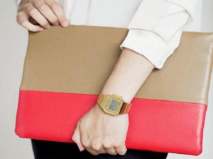 DIY-Anleitung: Leder-Laptoptasche nähen via DaWanda.com