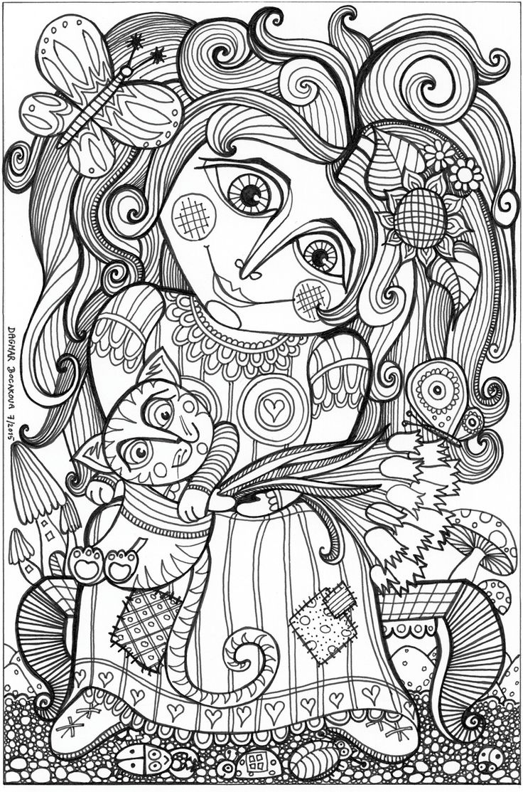 The coloring book project 2nd edition - Coloring Book The Nature Of Colors On Behance