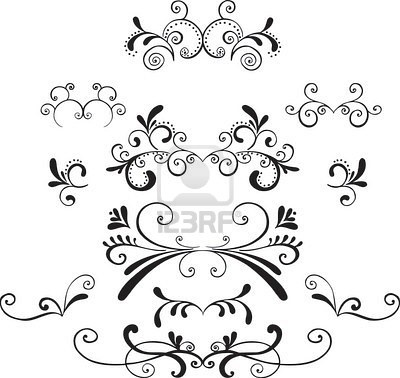 25 best ideas about scroll tattoos on pinterest swirl for Decorative scrollwork