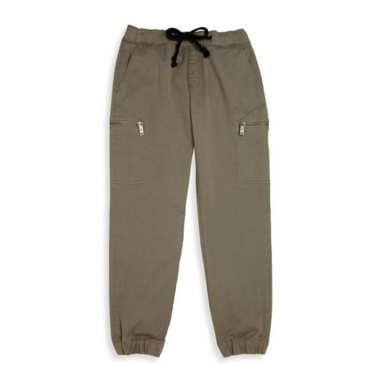 DL 1961 Boys Chino Jogger in Olive