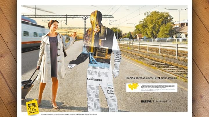 Kaleva – Print Campaign