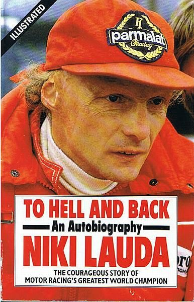 A great F1 racing book from Niki Lauda: To hell and back.