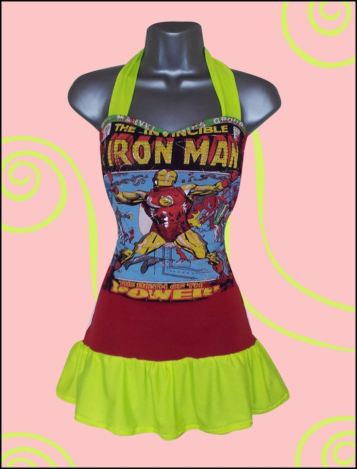 Iron Man T Shirt Upcycle/Reconstruction by ~Lolanova on deviantART