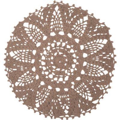 Alfombra Amorie beige 120 cm