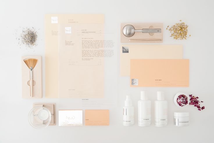 Njud – Make Your Own Natural Cosmetics on Behance
