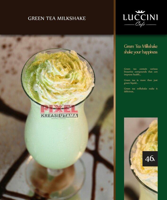 Green Tea Milkshake