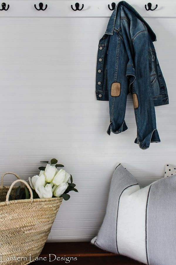How To Hang Beadboard Wallpaper Horizontally Beadboard Wallpaper Diy Porch Decor Affordable Home Decor